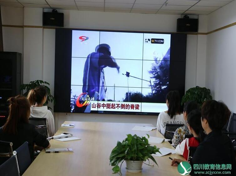 市树人幼儿园组织党员观看党员教育电视片
