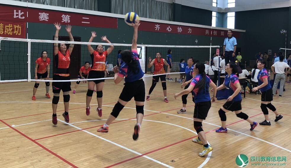 西华师大教职工女子气排球队荣获全国高校气排球邀请赛第八名