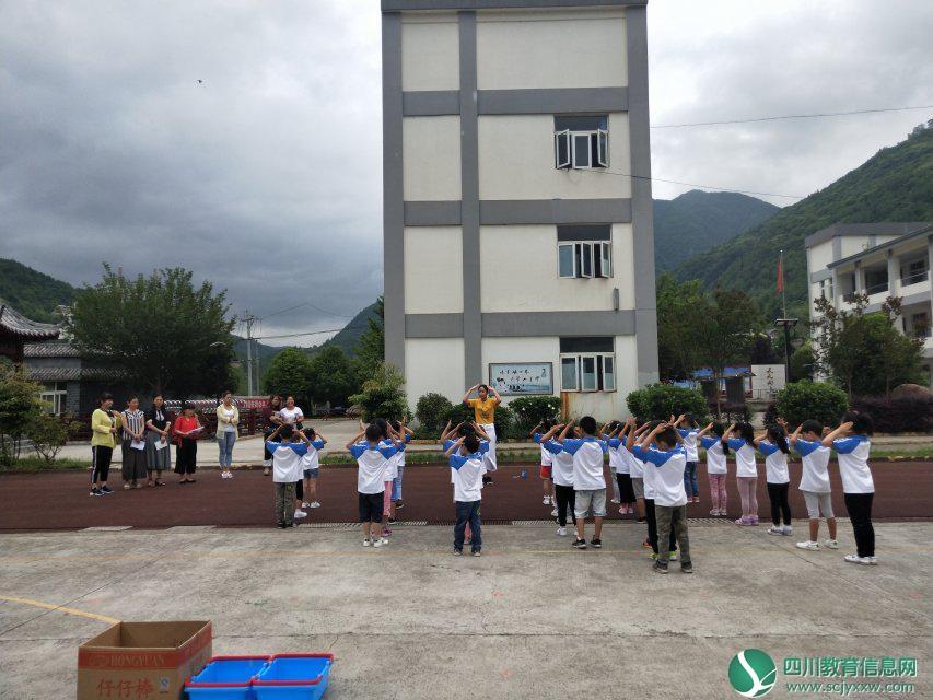 曲河小学校中园开展幼儿教学教研活动