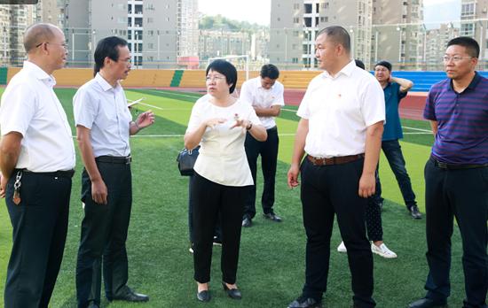 马晓凤副市长到攀枝花市三中调研区域教育高地建设工作