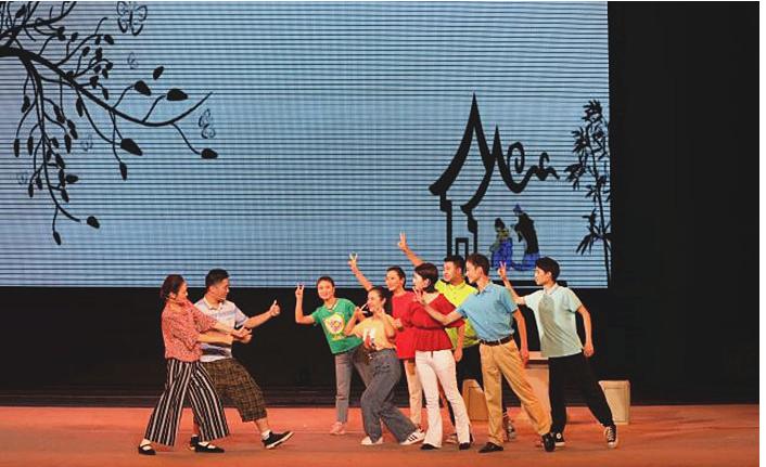 川北幼专戏剧小品《燕归》受邀参加省大学生校园戏剧展演