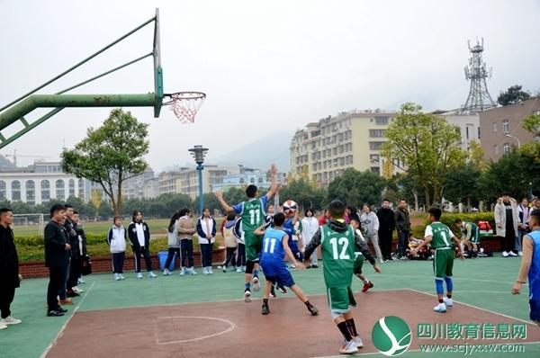 """马边开展第三届""""文轩教育杯""""中金沙澳门娱乐生篮球"""