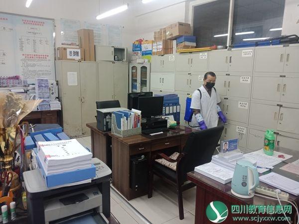 中江职中七举措打好疫情防控阻击战