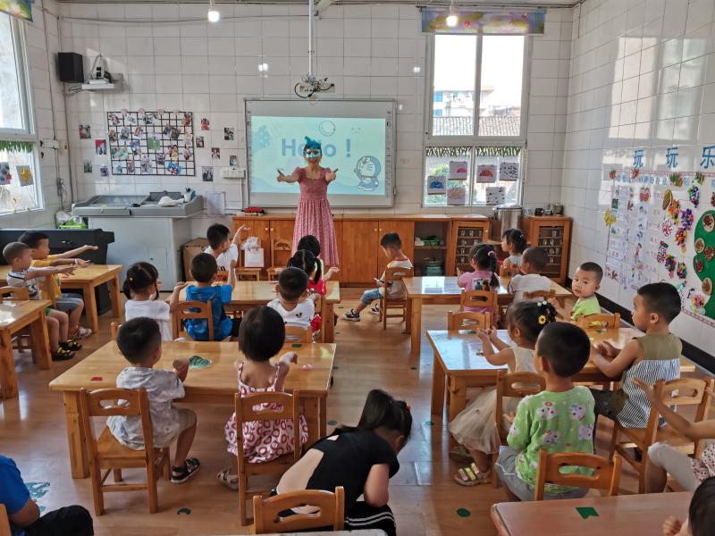 """沿滩幼儿园开展创文""""家长大讲堂""""活动"""