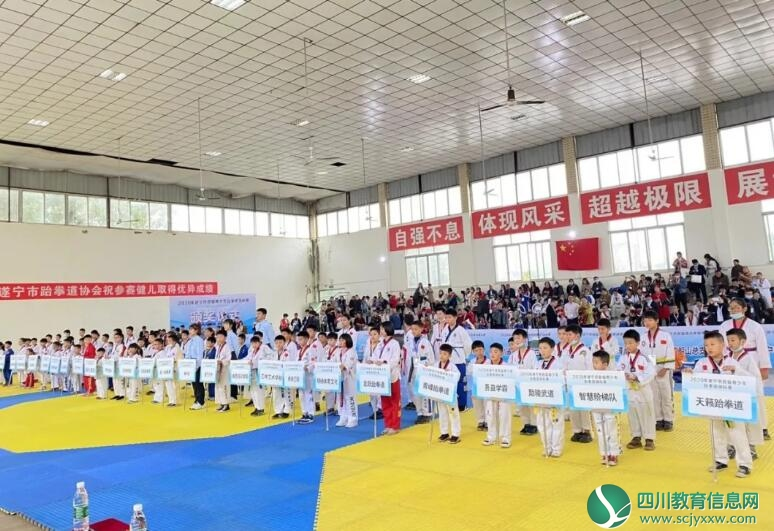 遂宁英伦国际幼稚园在2020年遂宁首届青少年跆拳道锦标赛中荣获佳绩
