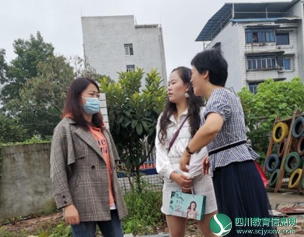 乐至县第二幼儿园来到石湍镇中心幼儿园开展结对帮扶活动